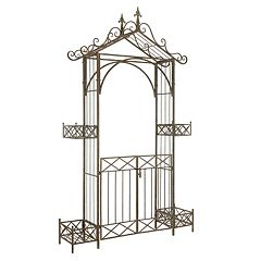 Safavieh Destiny Gated Patio Archway Arbor