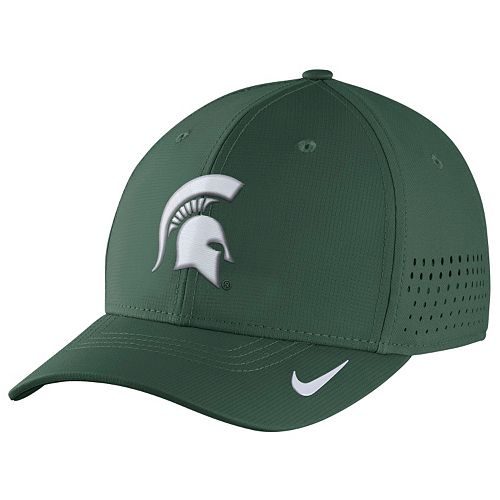 Men's Nike Michigan State Spartans Dri-FIT Vapor Sideline Flex-Fit Cap