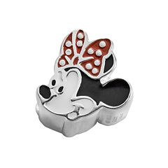 Disney's Minnie Mouse Sterling Silver Bead