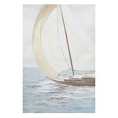 Madison Park Sail Away Canvas Wall Art