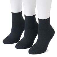 Women's SONOMA Goods for Life™ 3 pkSoft & Comfortable Ankle Socks