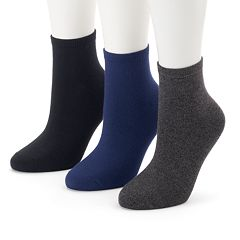 Women's SONOMA Goods for Life™ 3-pk. Soft & Comfortable Ankle Socks
