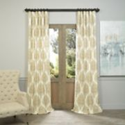 EFF 1-Panel Arabesque Window Curtain