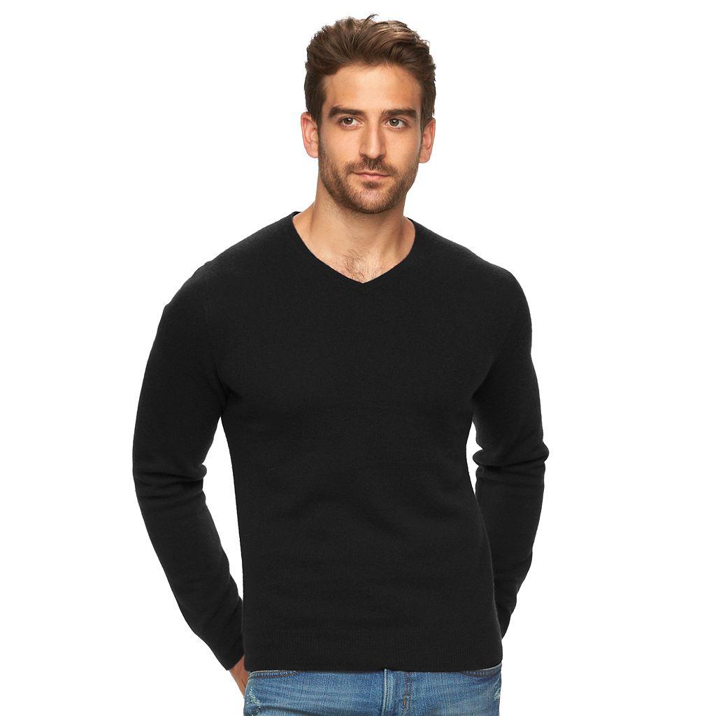 Men's Marc Anthony Slim-Fit Cashmere V-Neck Sweater