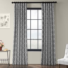 EFF 1-Panel Aiden Window Curtain