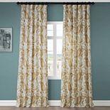 EFF 1-Panel Edina Window Curtain