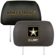 FANMATS United States Army 2 pc Head Rest Covers
