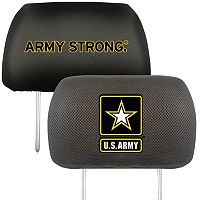 FANMATS United States Army 2-pc. Head Rest Covers
