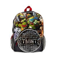 Kids Teenage Mutant Ninja Turtles Backpack & Lunch Tote Set