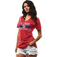 Women's Majestic St. Louis Cardinals One Game at a Time Tee