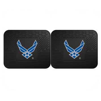 FANMATS United States Air Force 2-Pack Utility Backseat Car Mats