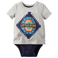 Baby Boy Carter's Graphic Mock-Layer Bodysuit