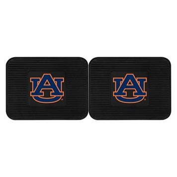 FANMATS Auburn Tigers 2-Pack Utility Backseat Car Mats
