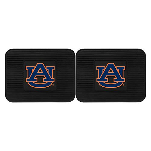FANMATS Auburn Tigers 2-Pack Utility Backseat Car Mats