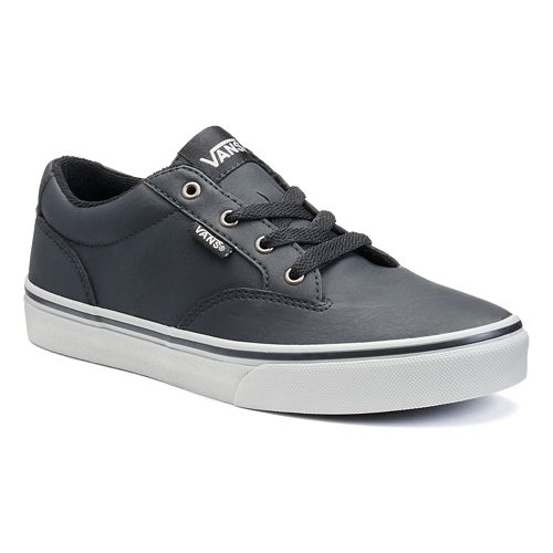 e906fda369 Vans Winston Boys  Leather Skate Shoes