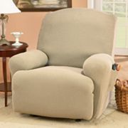 Sure Fit Honeycomb Stretch Solid Recliner Slipcover