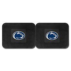 FANMATS Penn State Nittany Lions 2-Pack Utility Backseat Car Mats