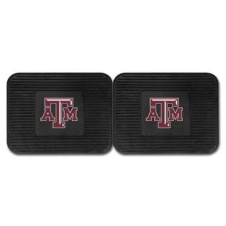FANMATS Texas A&M Aggies 2-Pack Utility Backseat Car Mats