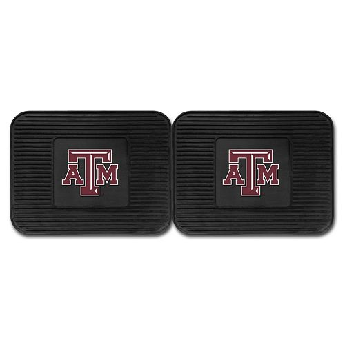 FANMATS Texas A&M Aggies 2-Pack Utility Backseat Car Mats