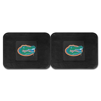 FANMATS Florida Gators 2-Pack Utility Backseat Car Mats