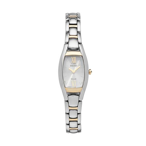 Seiko Women's Core Stainless Steel Solar Watch