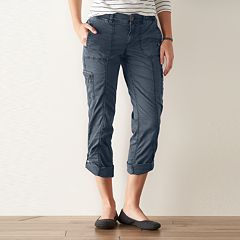 Petite SONOMA Goods for Life™ Cargo Convertible Pants
