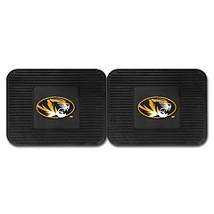 FANMATS Missouri Tigers 2-Pack Utility Backseat Car Mats
