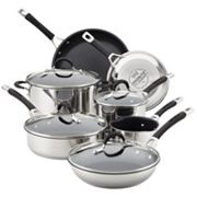 Circulon Momentum 11 pc Stainless Steel Nonstick Cookware Set
