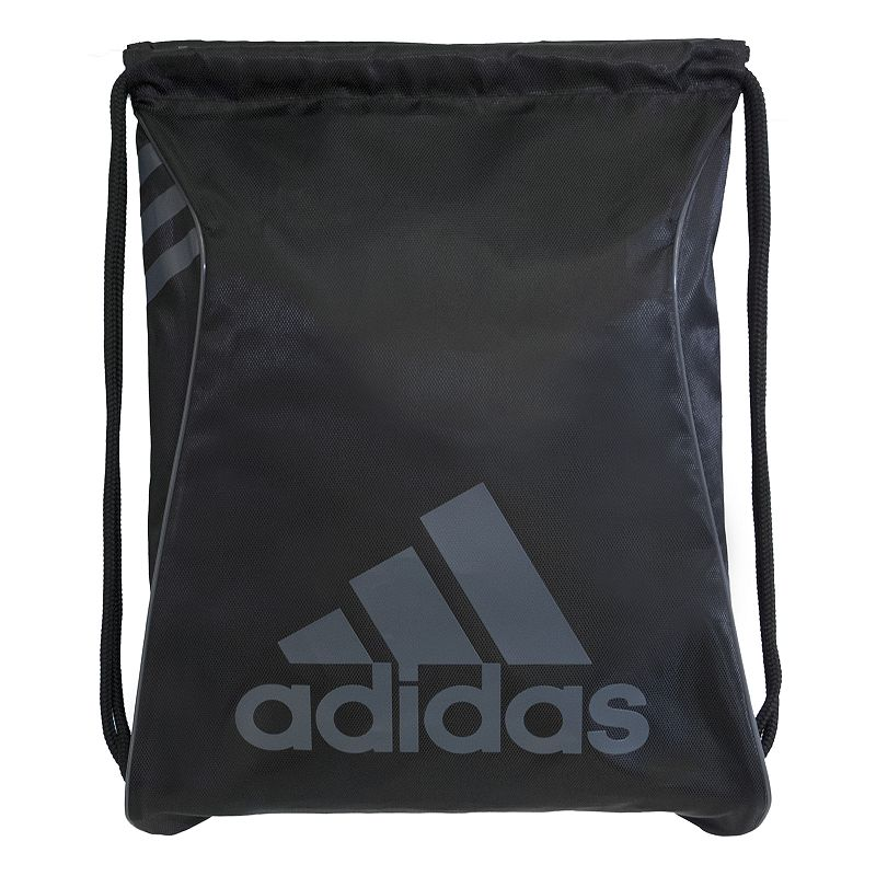 Adidas Burst Drawstring Backpack, Black Durability meets hassle-free portability in this convenient Adidas Burst sackpack. Reliable construction for long-lasting use Reversible design Durable polyester corded straps Large main compartment Easy cinch opening 18 H x 14.25 W Polyester Drawstring Manufacturer's lifetime limited warrantyFor warranty information please click here Model Numbers Shock pink black white: 5140233 University red black: 5140234 Black silver: 5140236 Bold blue black: 5140238 Size: Onesize. Gender: Unisex.