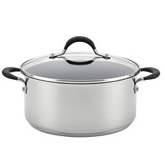 Circulon Momentum 5-qt. Stainless Steel Nonstick Dutch Oven