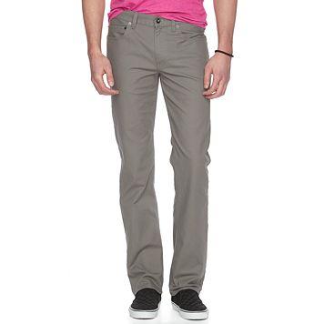 Men's Urban Pipeline Slim-Straight Canvas Pants
