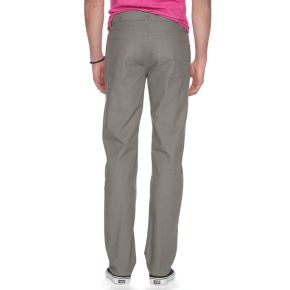 Men's Urban Pipeline Slim-Straight Canvas Pants