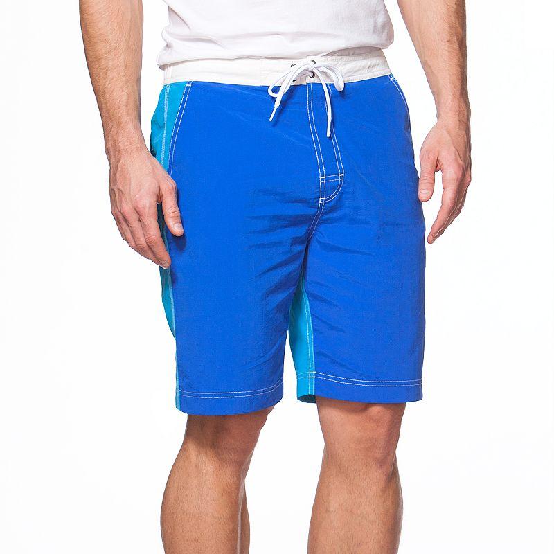 Men's Chaps Colorblock Board Shorts