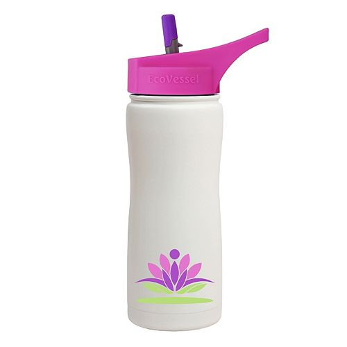 EcoVessel Summit Insulated Stainless Steel Water Bottle (17-Ounce)