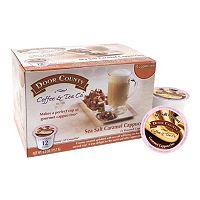 Door County Coffee & Tea Co. Single-Serve Sea Salt Caramel Cappuccino - 12-pk.