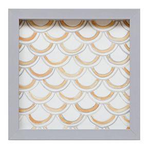 Intelligent Design Geometric Framed Canvas Wall Art 3-piece Set