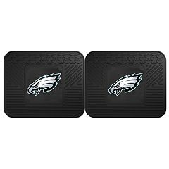 FANMATS Philadelphia Eagles 2-Pack Utility Backseat Car Mats