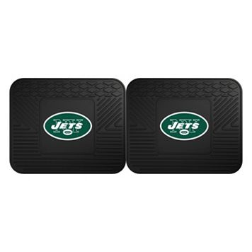 FANMATS New York Jets 2-Pack Utility Backseat Car Mats