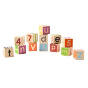 giggle Wood Alphabet & Numbers Block Set