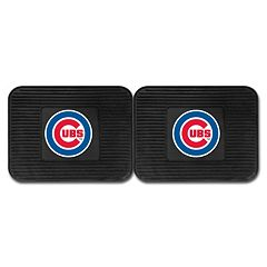 FANMATS Chicago Cubs 2-Pack Utility Backseat Car Mats