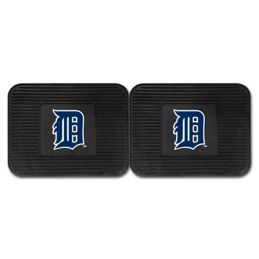 FANMATS Detroit Tigers 2-Pack Utility Backseat Car Mats
