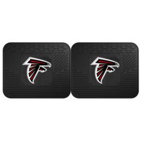 FANMATS Atlanta Falcons 2-Pack Utility Backseat Car Mats