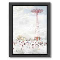 Americanflat Brooklyn Eiffel Framed Wall Art
