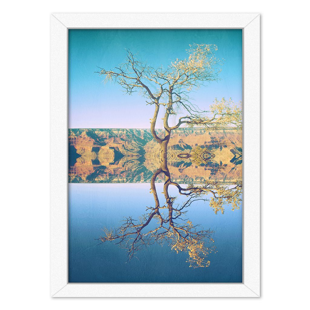 Americanflat Canyon Framed Wall Art