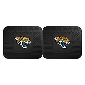 FANMATS Jacksonville Jaguars 2-Pack Utility Backseat Car Mats