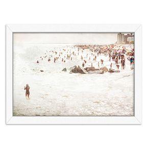 Americanflat Coney Island Mermaid Framed Wall Art