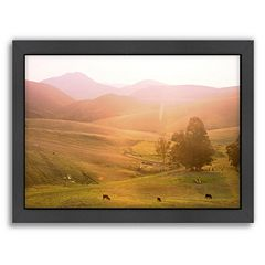 Americanflat Cows Framed Wall Art