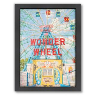 Americanflat Fun And Games Framed Wall Art
