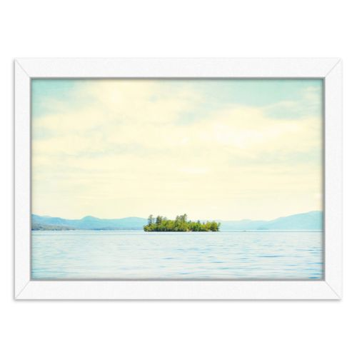 Americanflat Greetings From Nowhere 3 Framed Wall Art