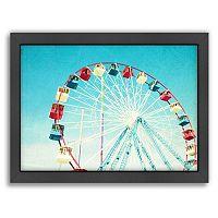 Americanflat Jersey Ferris Framed Wall Art